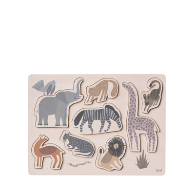 Ferm Living Kids Puzzle – Safari