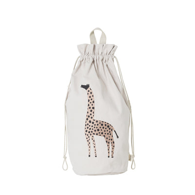 Ferm Living Kids Safari Storage Bag – Giraffe