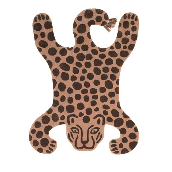 Ferm Living Kids Safari Tufted Rug – Leopard