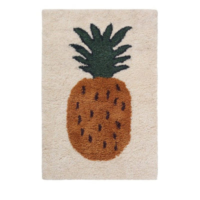 Ferm Living Kids Fruiticana Tufted Rug – Pineapple