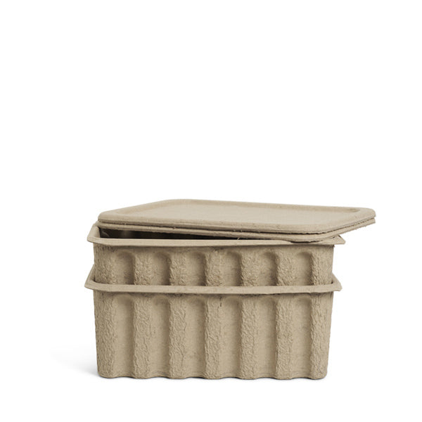 Ferm Living Paper Pulp Box - Large - Set of 2