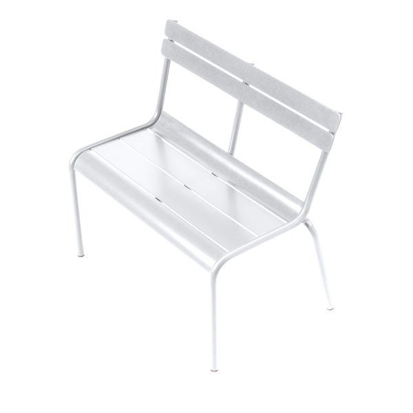 Fermob Children's Bench Luxembourg Kid - Cotton White