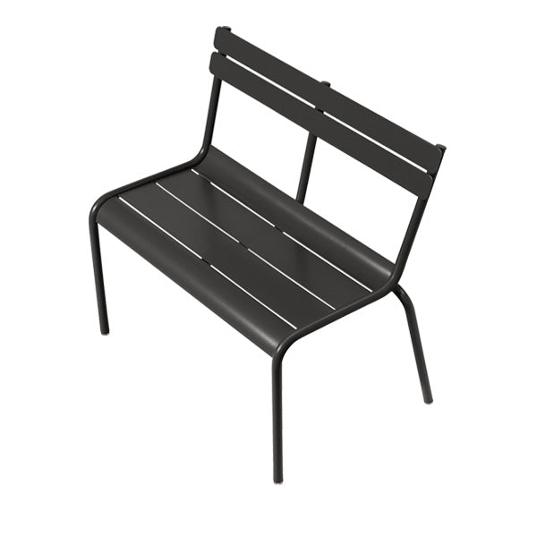 Fermob Children's Bench Luxembourg Kid - Liquorice