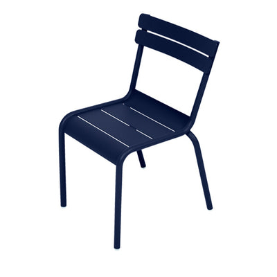 Fermob Children's Chair Luxembourg Kid - Deep Blue