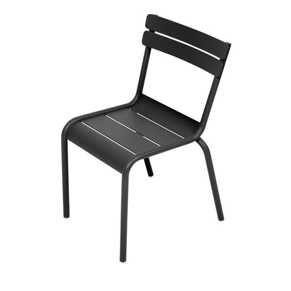 Fermob Children's Chair Luxembourg Kid - Liquorice