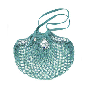82270fbb307c Filt Net Bag Aqua Blue – Long Handles – Elenfhant