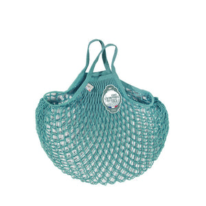 Filt Net Bag Aqua Blue – Short Handles