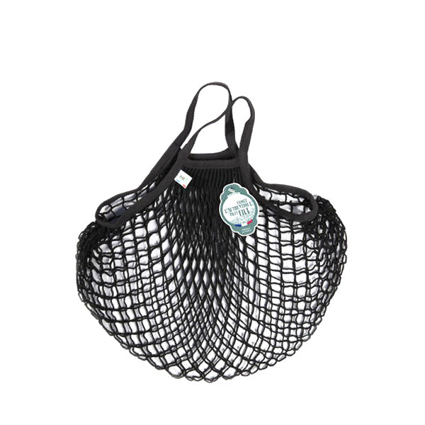 Filt Net Bag Black – Short Handles