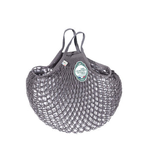 Filt Net Bag Dark Grey – Short Handles