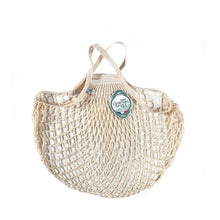 Filt Net Bag Natural – Short Handles - Elenfhant