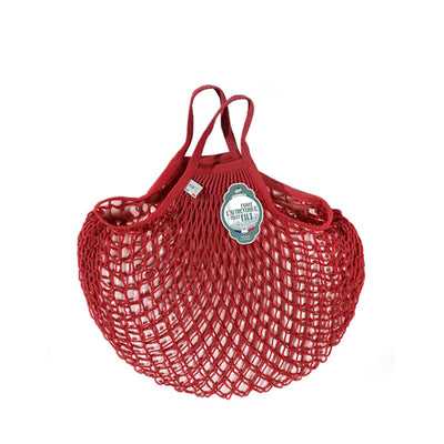 Filt Net Bag Red – Short Handles