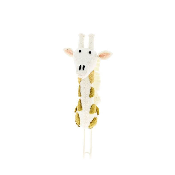 Fiona Walker Animal Head Hook – Giraffe Cream