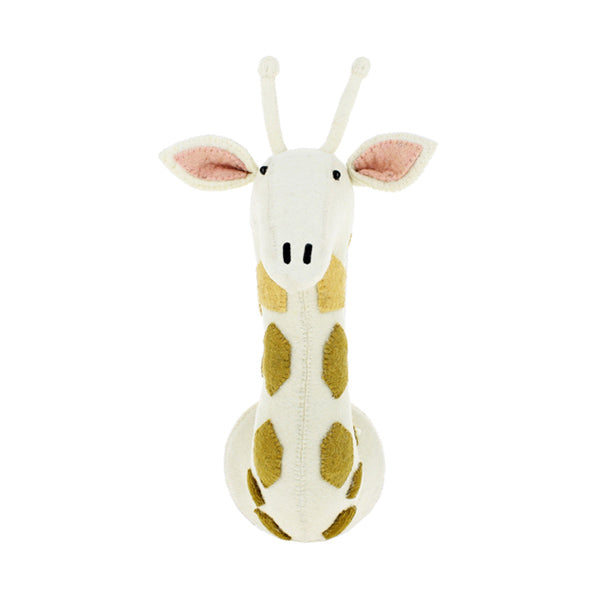 Fiona Walker Animal Head – Giraffe Cream