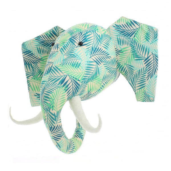 Fiona Walker Animal Head – Elephant Jungle Print