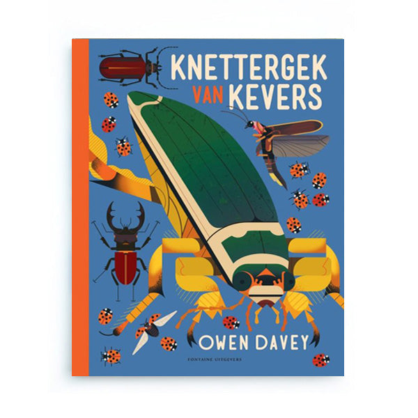 Knettergek van Kevers by Owen Davey – Dutch