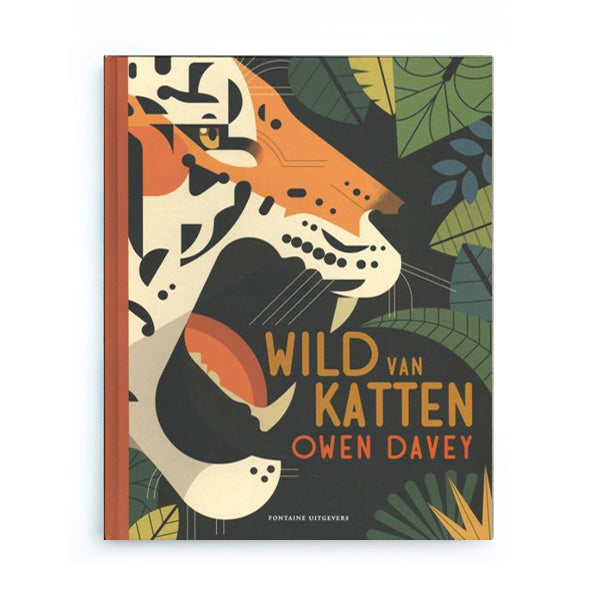 Wild van Katten by Owen Davey – Dutch