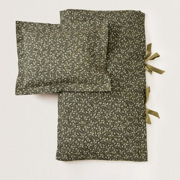Garbo and Friends Duvet Cover Set – Floral Moss