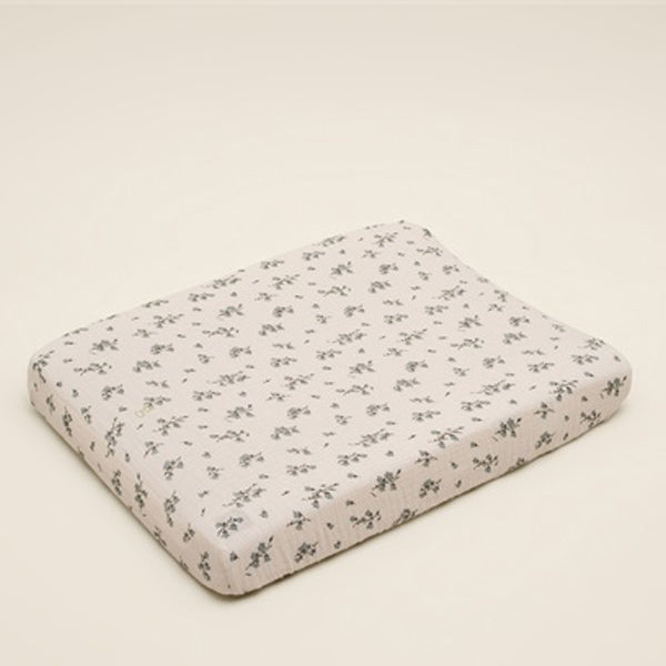 Garbo&Friends Muslin Changing Mat Cover - Bluebell