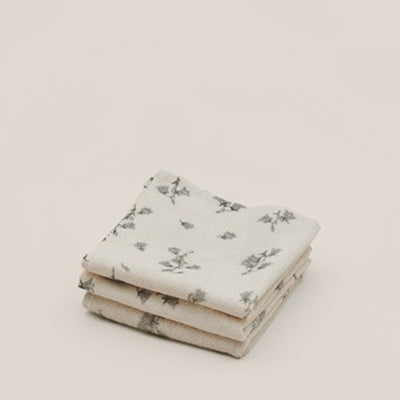 Garbo&Friends Face Towel 3pcs - Bluebell
