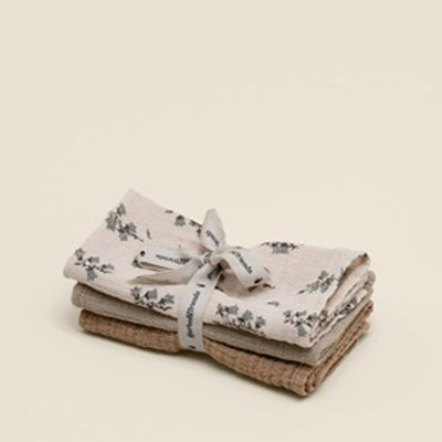 Garbo&Friends Burp Cloths - Bluebell