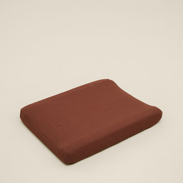 Garbo&Friends Muslin Changing Mat Cover - Cinnamon