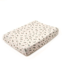 Garbo&Friends Muslin Changing Mat Cover - Clover