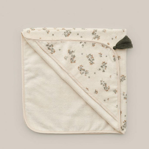 Garbo&Friends Baby Hooded Towel - Clover