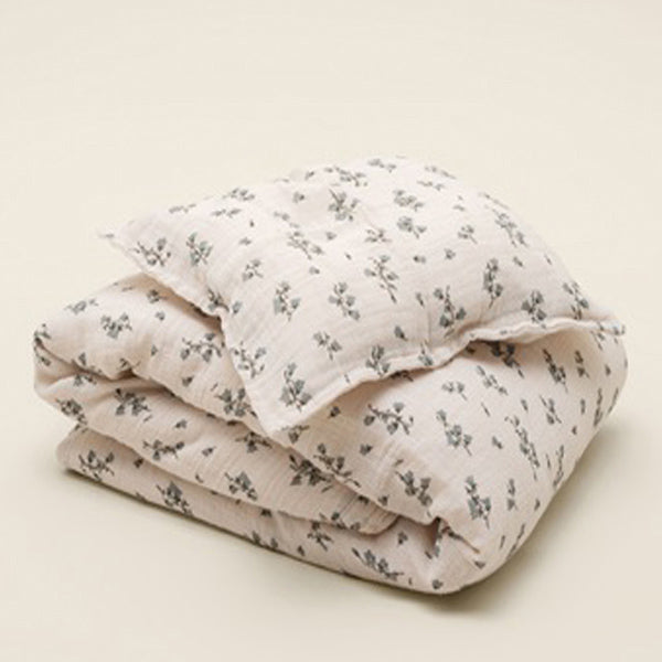 Garbo&Friends Muslin Bedset / Duvet Cover Set – Bluebell