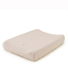 Garbo&Friends Muslin Changing Mat Cover - Eggshell