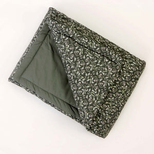 Garbo&Friends Filled Blanket – Floral Moss