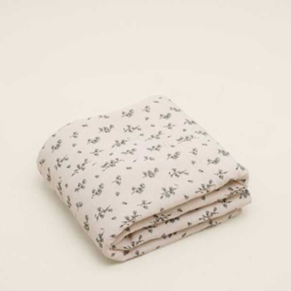 Garbo&Friends Filled Muslin Quilt - Bluebell