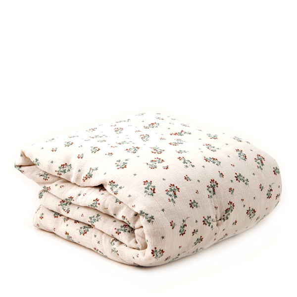 Garbo&Friends Filled Muslin Blanket - Clover