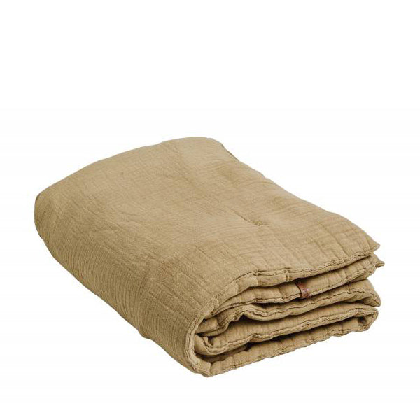 Garbo and Friends Muslin Filled Blanket – Straw