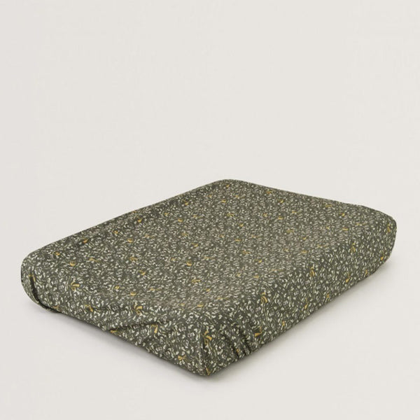 Garbo&Friends Changing Mat Cover – Floral Moss