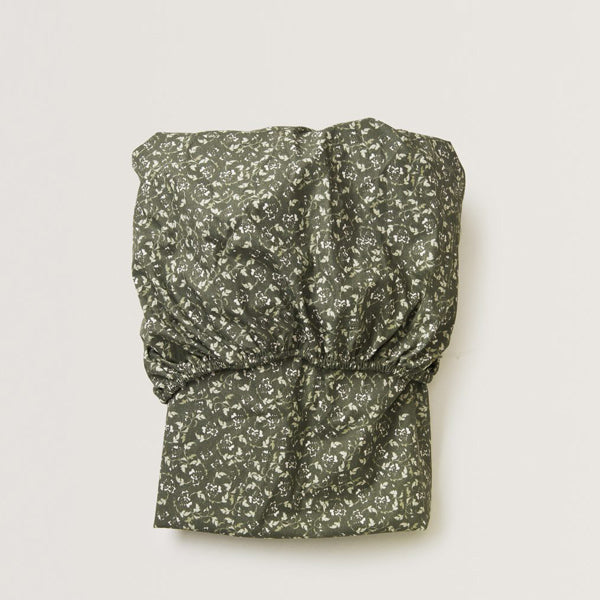 Garbo&Friends Fitted Sheet – Floral Moss