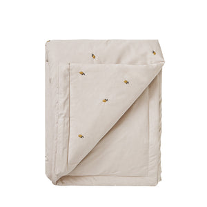 Garbo and Friends Filled Blanket – Lemon