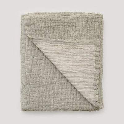 Garbo&Friends Mellow Kale Blanket - Large