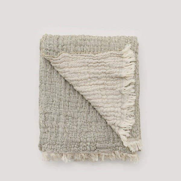 Garbo&Friends Mellow Kale Blanket - Small
