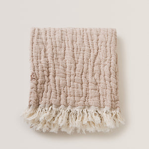 Garbo and Friends Blanket - Mellow Tawny