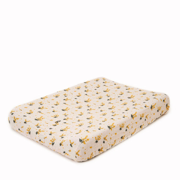 Garbo&Friends Muslin Changing Mat Cover - Mimosa