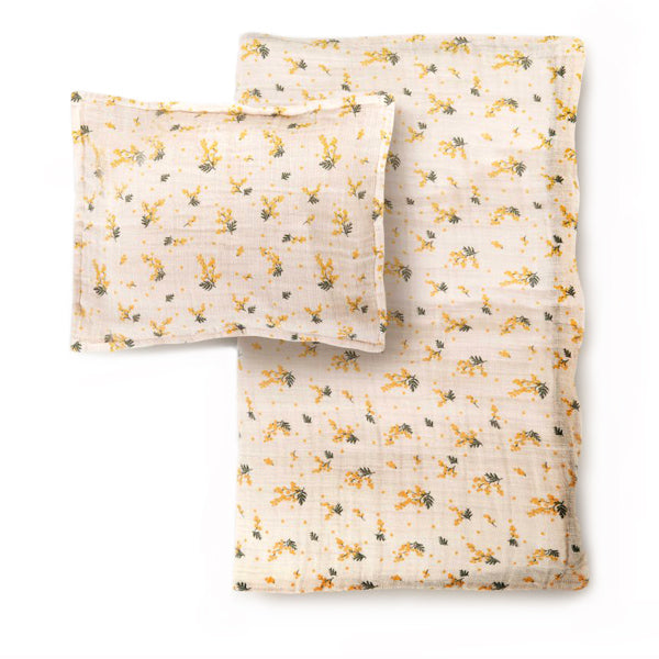 Garbo&Friends Muslin Duvet Cover Set – Mimosa