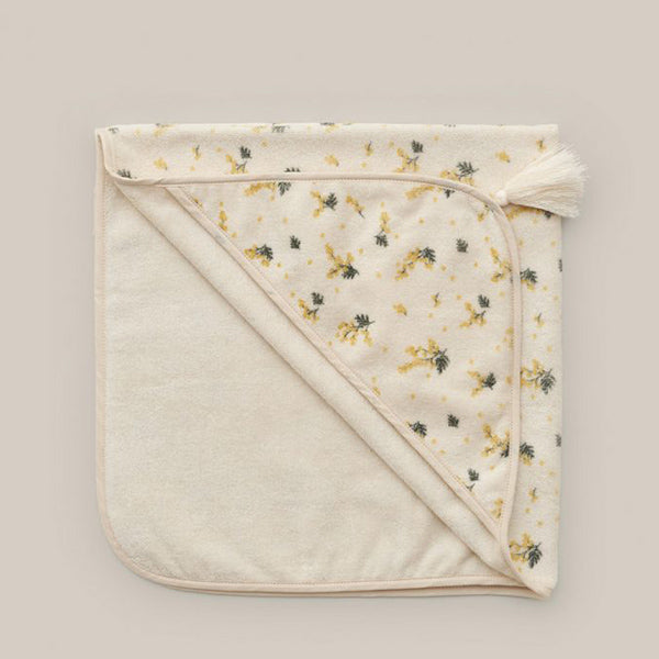 Garbo&Friends Baby Hooded Towel - Mimosa