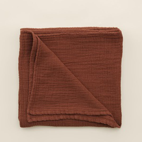 Garbo&Friends Muslin Swaddle Blanket - Cinnamon