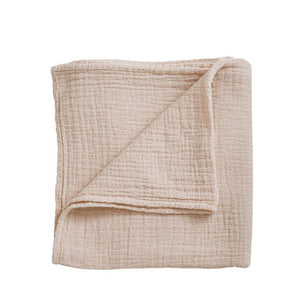 Garbo&Friends Muslin Swaddle Blanket - Eggshell