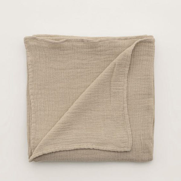 Garbo&Friends Muslin Swaddle Blanket - Olive