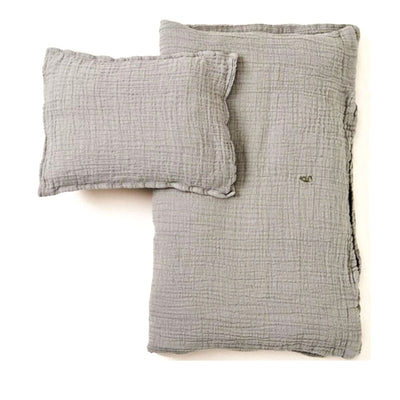 Garbo&Friends Muslin Junior Bedset - Thyme