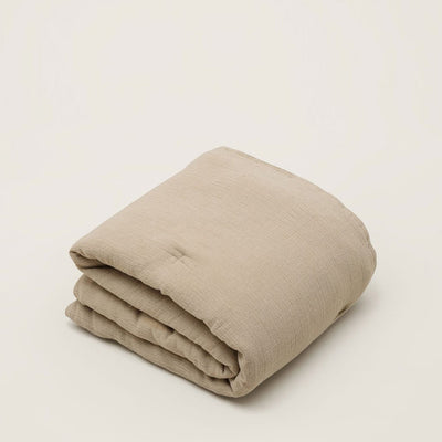 Garbo&Friends Filled Muslin Blanket - Olive