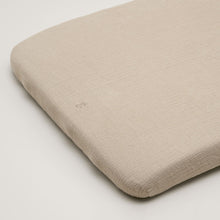 Garbo&Friends Muslin Fitted Sheet – Olive