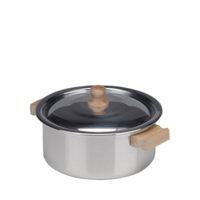 Glückskäfer Child's Low Cooking Pot With Lid - Aluminium