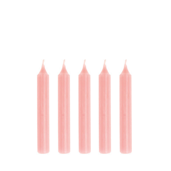 Goki Birthday Candles Pink - 10 Pieces